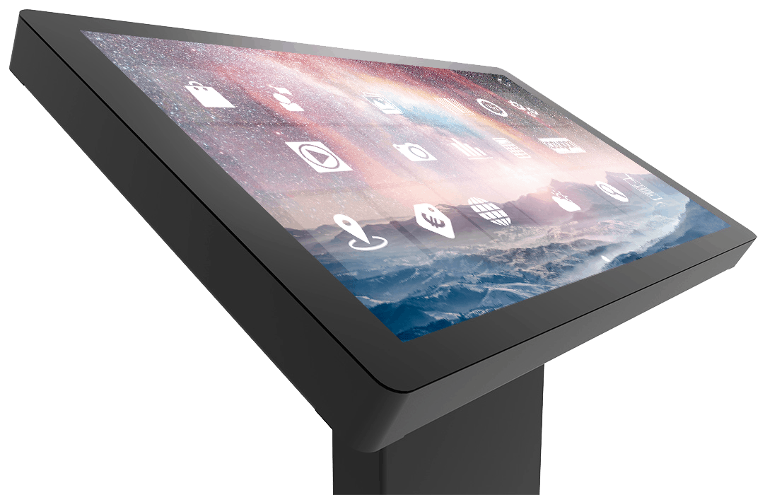 Borne tactile Nano Touch finesse