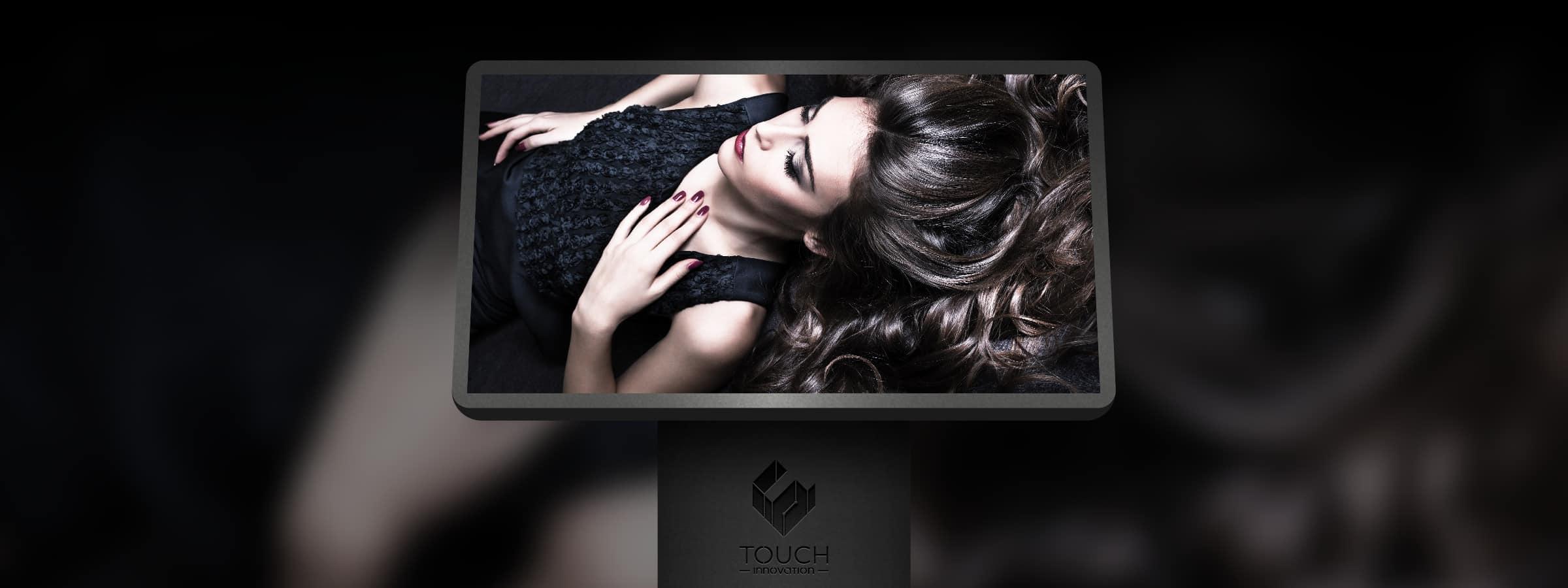 Borne tactile coiffeur