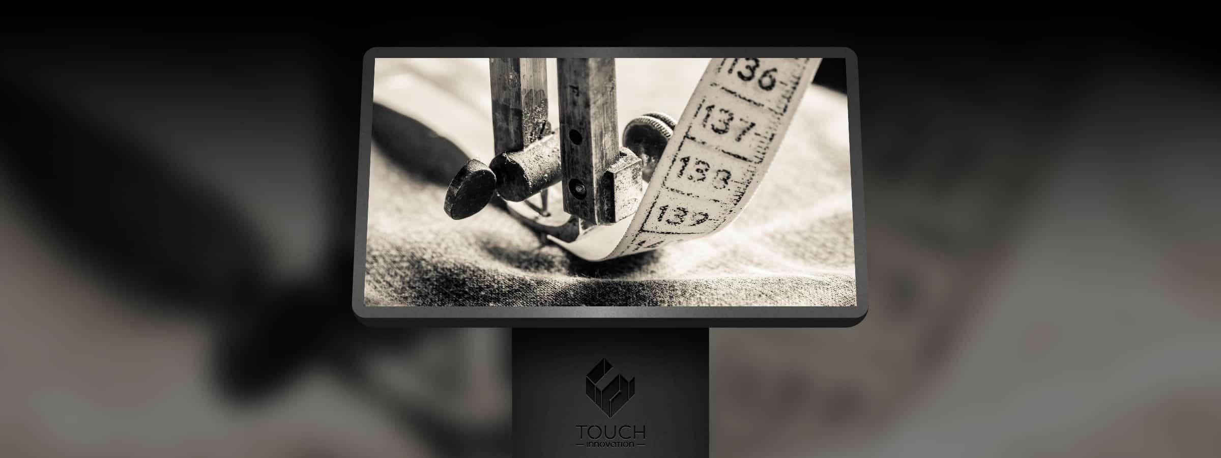 Borne tactile sur mesure
