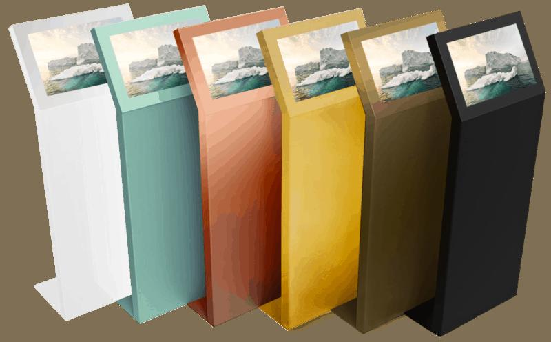 Borne tactile Quartz couleur personnalisée