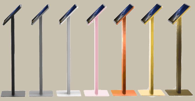 Borne tactile Saphir couleur personnalisée